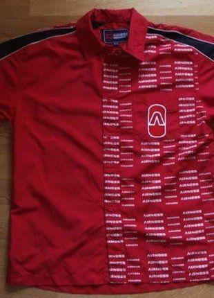 À vendre sur #vintedfrance ! http://www.vinted.fr/mode-hommes/chemises/28009643-chemisette-homme-t-m-taille-plus-un-t-l-marque-airness-tbe-rouge-tres-sympa