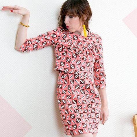 Couture : la robe la parisienne
