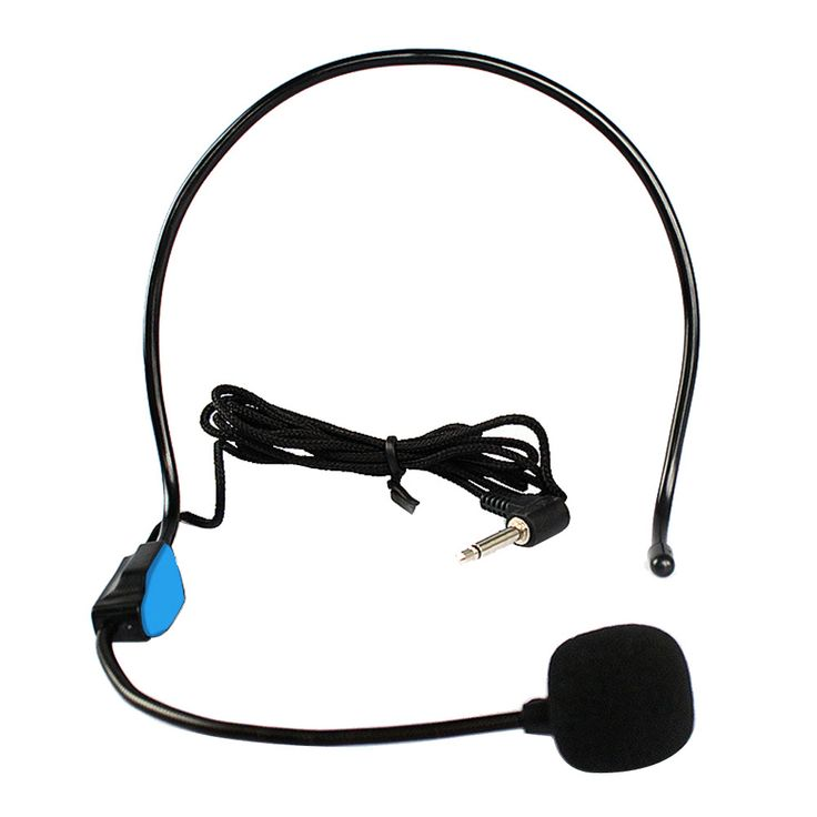 Mini studio microfone condensador For Voice Amplifier Speaker Professional Stand Wired Headset Microphone Mic system Megaphone