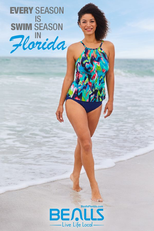 334a9ea4c992e5 More like swimsuit weather! Every season is swim season in Florida, and  stylish swimsuits make for the perfect Florida Fall outfit.