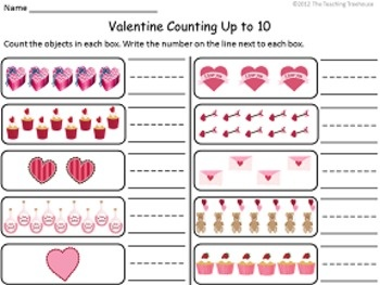 This pack contains Valentine themed alphabet practice, rhyming, patterns, numbers 1-20, counting, adding, subtracting, shape sorting, and more! Also included are upper and lowercase ABC and number/counting game cards. $