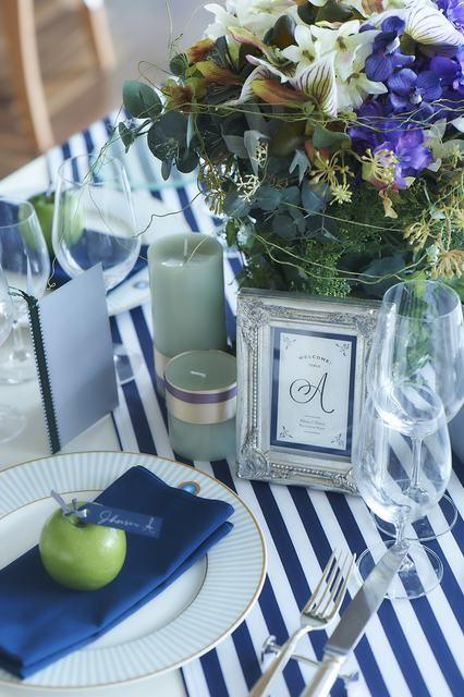 結婚式場写真「テーブルコーディネートもリゾート感をたっぷり出して演出を♪」 【みんなのウェディング】