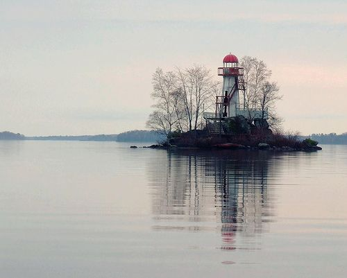 The Lost Lighthouse. This was taken in a town near North Bay, Ontario, Canada called Callander.