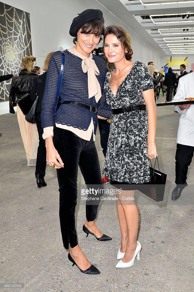 Photo d'actualité : Ines de la Fressange et Virginie Ledoyen attends...