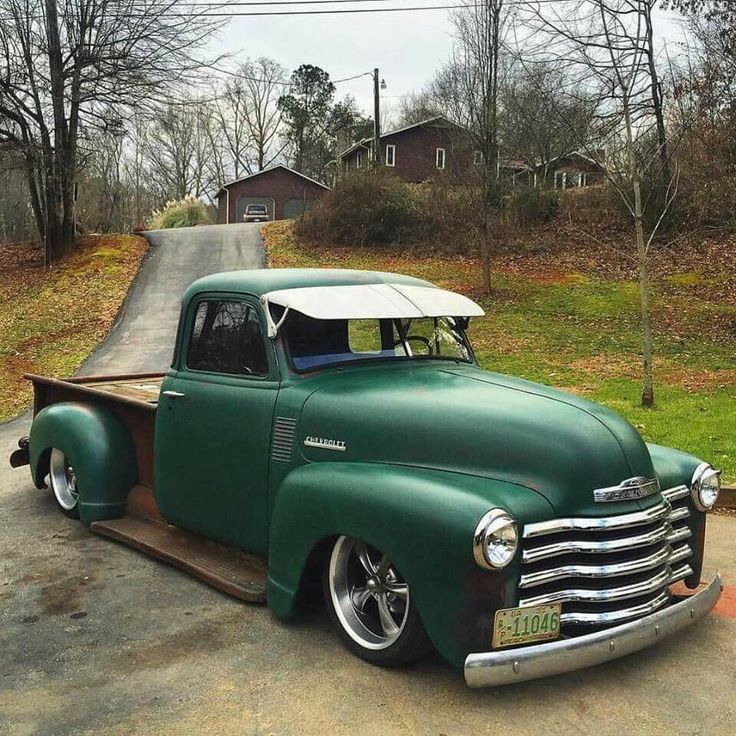 811 Best Images About Cool Classic 47-54 Chevy Trucks On