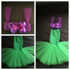 Little mermaid tutu costume @Ashley Walters Walters Walters Clarke WHAT do you think of this??