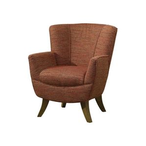 This rust-coloured Accent Chair gives that cozy Autumn feel perfect for those cold days.