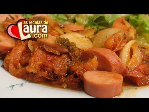 Salchichas de Pavo al chipotle Las recetas de Laura Recetas Light