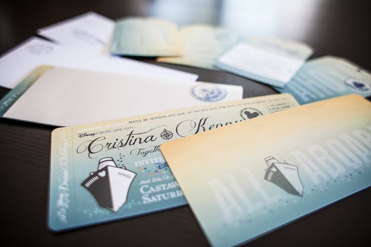 Disney Cruise Wedding Invitations By Great Heights
