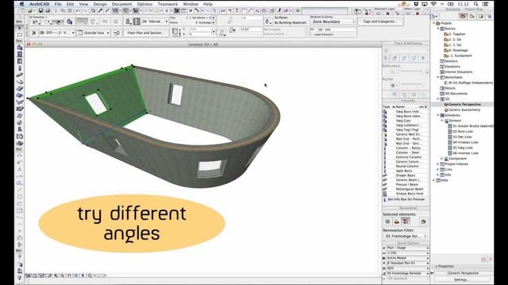 Revit vs. ArchiCAD, part 2