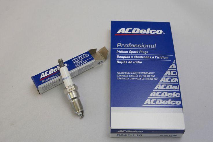 $2 Rebate per Plug ACDelco OEM Chevy Suburban IRIDIUM (8) Spark Plugs 41-110 #41-110 #ACDelco