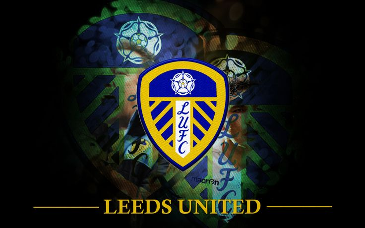 Leeds United AFC Logo HD Wallpaper