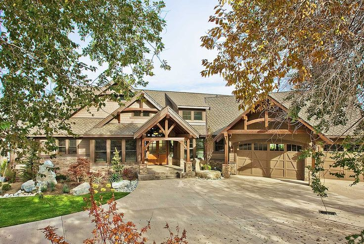 Luxury Craftsman with Front-to-Back Views - 23284JD | 1st Floor Master Suite, Butler Walk-in Pantry, CAD Available, Craftsman, Den-Office-Library-Study, Luxury, Mountain, Northwest, PDF, Photo Gallery, Premium Collection, Split Bedrooms | Architectural Designs