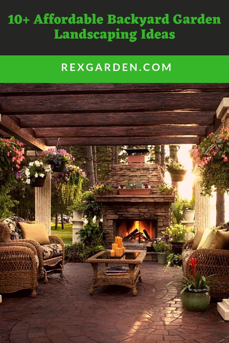 Summer Is Right Around The Corner And That Means Long Days Warm Evenings And Much More Time Rustic Outdoor Fireplaces Backyard Patio Outdoor Fireplace Designs