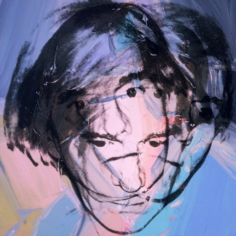 "showslow: ""Andy Warhol, Self Portrait (1978) """