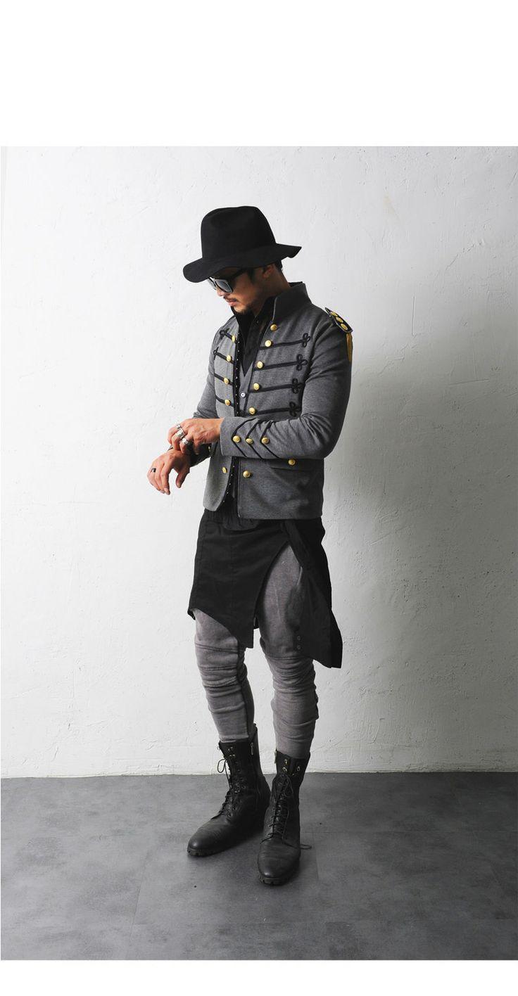 Mens Slimfit Napoleon Jacket At Fabrixquare