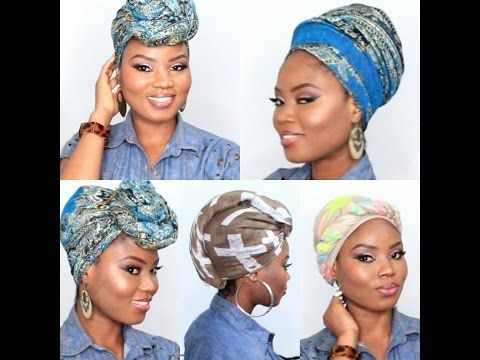 how to tie hair in different styles 25 best ideas about wrap tutorial on 5647