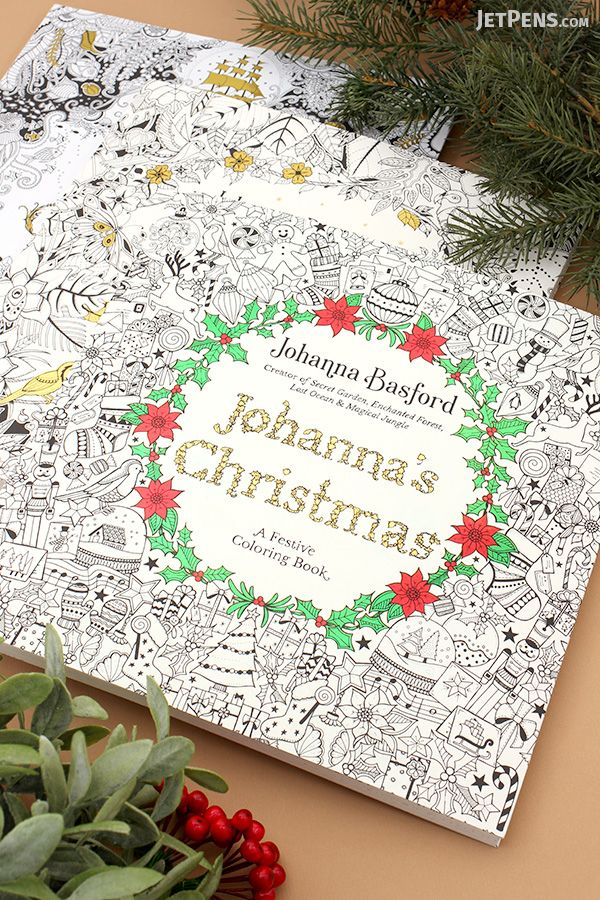 expand your collection of johanna basford coloring books with lost ocean magical jungle and - Best Colored Pencils For Coloring Books