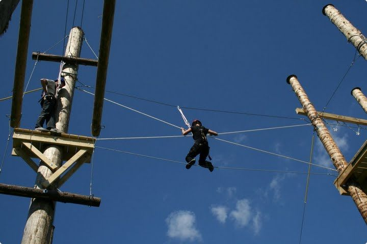 High Ropes Course #zagreb #stagdo