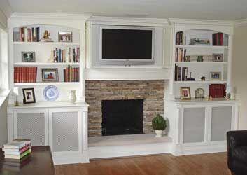 35 best Shelves images on Pinterest | Fireplace built ins ...