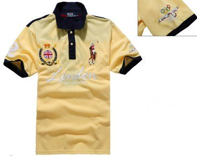 Olympic Game London 2012 polo in Yellow