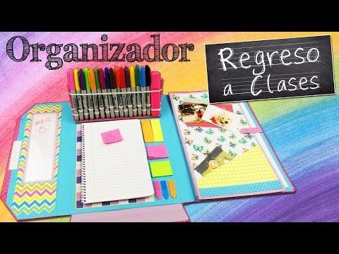 DIY - Decoración y organización de escritorio para el regreso a clases! - YouTube