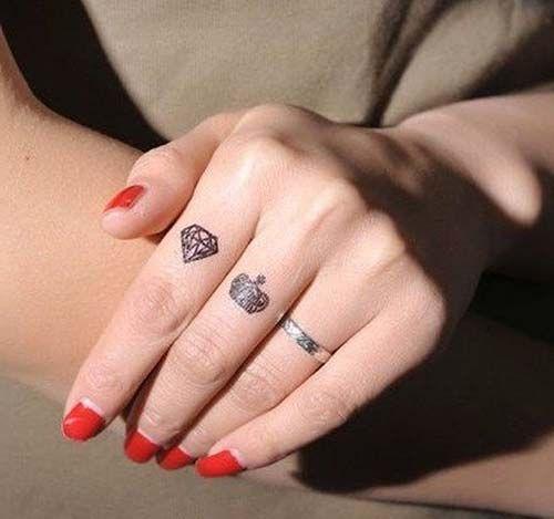 25 best ideas about diamond tattoos on pinterest small. Black Bedroom Furniture Sets. Home Design Ideas