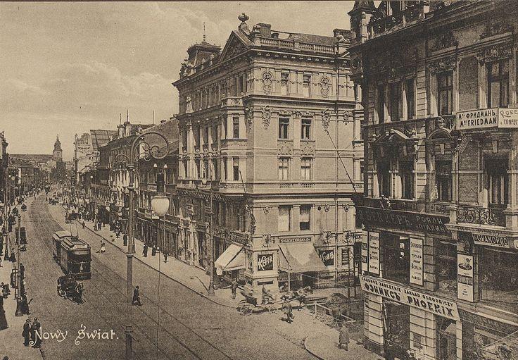 Warszawa przedwojenna (Nowy Świat)