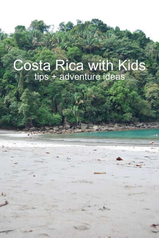 Costa Rica with Kids | tips for traveling to costa rica with children | Bambini Travel