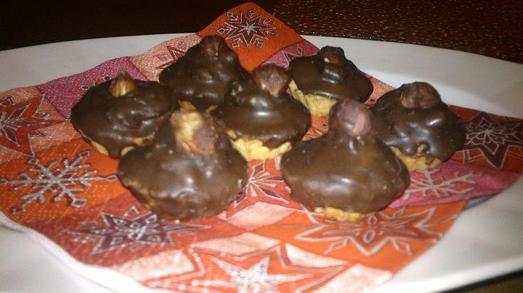 Moje tvořeníčko...: Linecké košíčky s ořechovou náplní