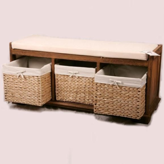 storage with bench ideas picture