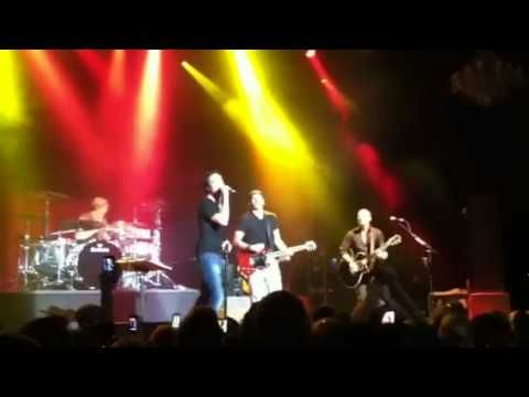 """Train """"Save Me San Francisco""""  With Barry Zito, Fillmore SF, April 15, 2012"""