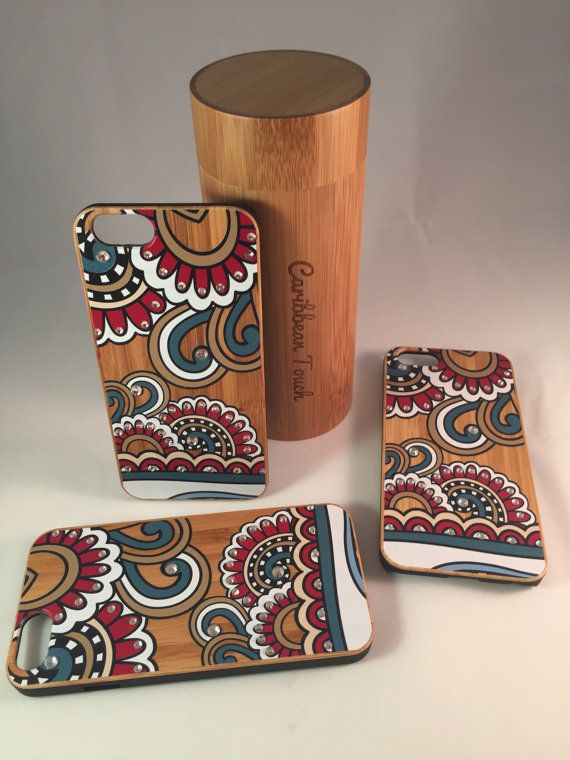 Hand-Made IPhone 6 Bamboo Case made with by CaribbeanTouchLLC