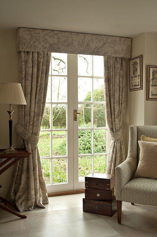 Pencil Pleat Curtains with Pelmet