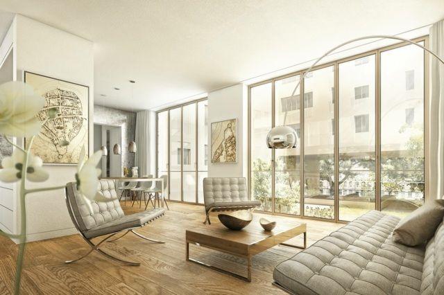 die besten 25 penthousewohnung ideen auf pinterest. Black Bedroom Furniture Sets. Home Design Ideas