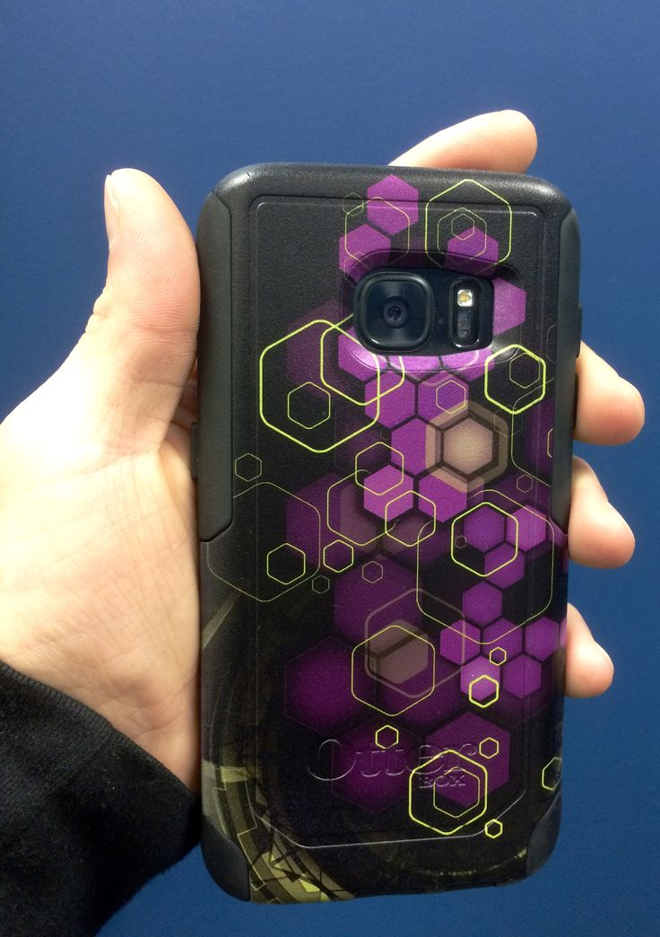 Customized otterbox iPhone case designed by Dustin Zane Poole at Studio Phi in Calgary Alberta