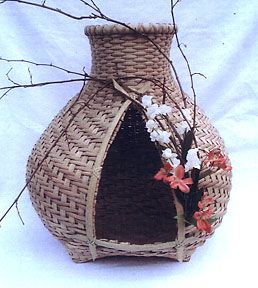Cathead Cat house basket