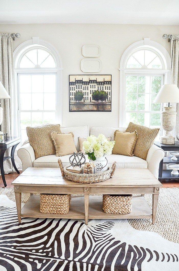 The Elements Of Decor Balance Stonegable Summer Living Room Decor Living Room Sofa Design Decor