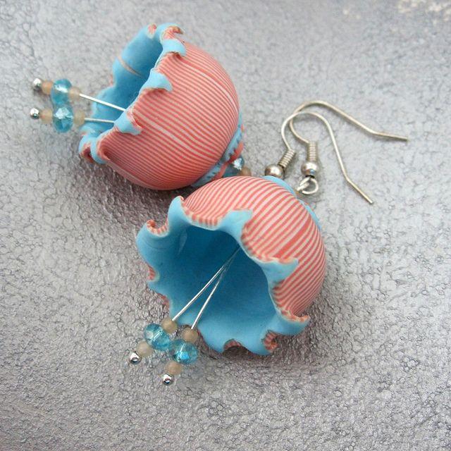 Bells earrings by Saffron Addict, via Flickr