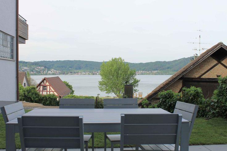 Ferienwohnungen Schatz Ferienwohnung Fisch Terrasse Bodman Bodensee Seesicht Aussicht Urlaub Ferien Holidays