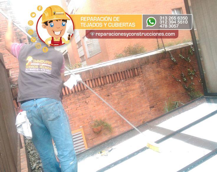 reparación de techos, cubiertas. #reparación #cubiertas #techos #marquesinas