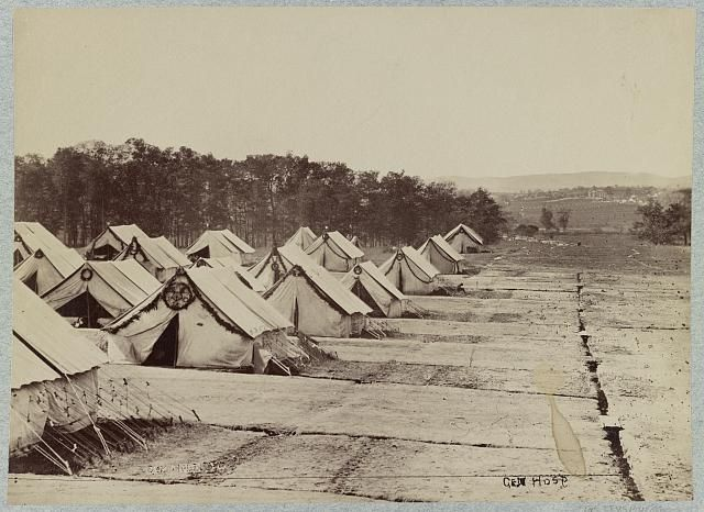 General Hospital, Gettysburg, August, 1863; LOC