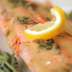 Saumon en croûte de sel @ allrecipes.fr