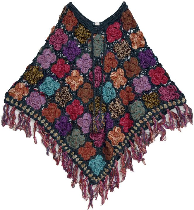 Knitting Patterns For Ponchos And Shawls : Abc knitting patterns crochet gt shawls and