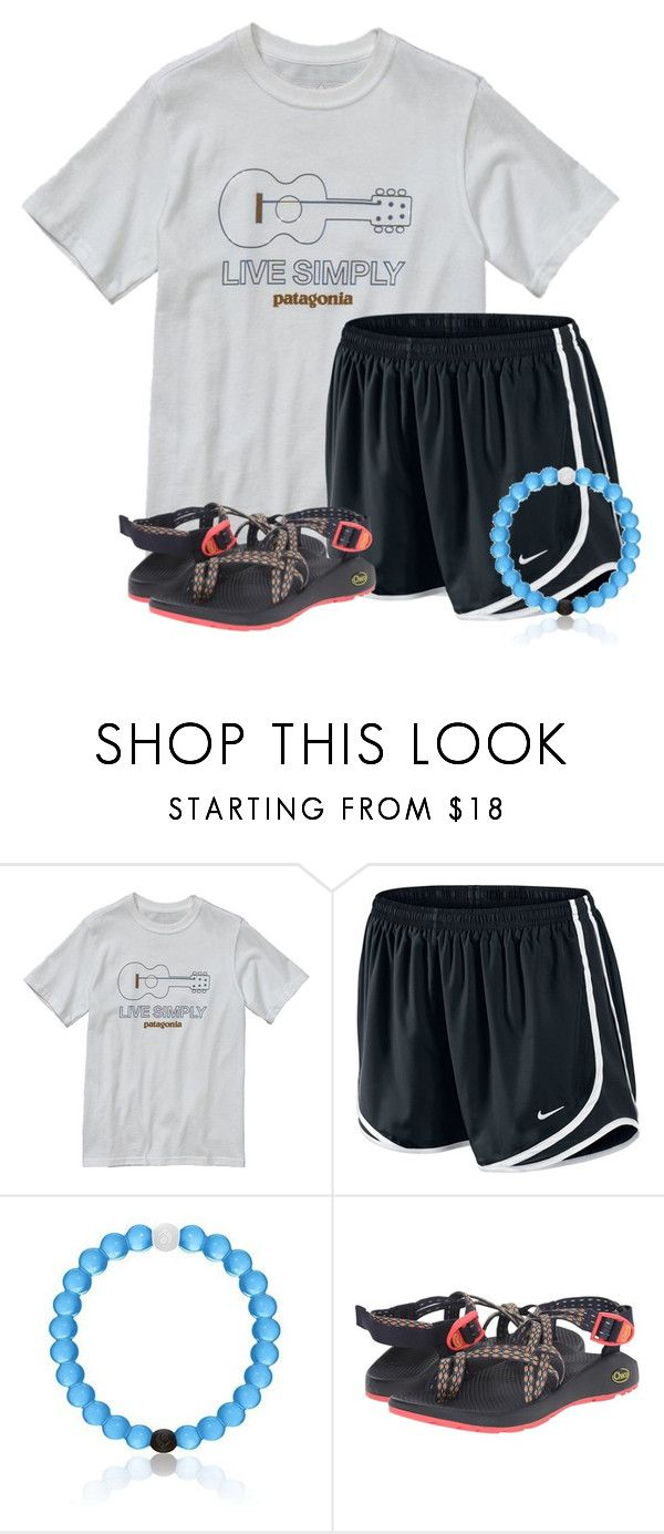 """""""~live simply~"""" by flroasburn on Polyvore featuring Patagonia, NIKE and Chaco"""