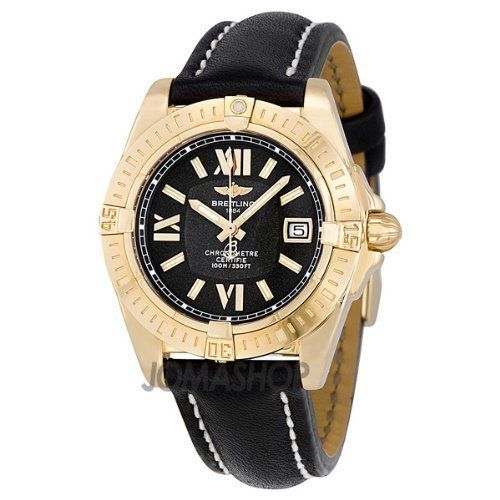 BREITLING LADY COCKPIT H7135612/B904 LADIES BLACK CALFSKIN ROSE GOLD CASE WATCH by Breitling, http://www.amazon.co.uk/dp/B008JXZR9E/ref=cm_sw_r_pi_dp_aOY0rb11CX5B9