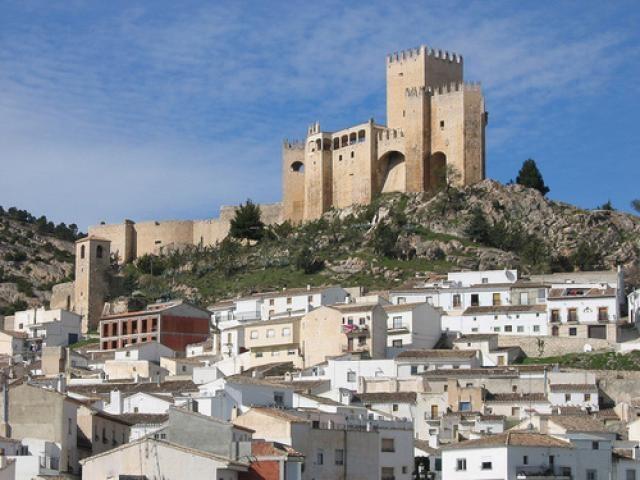 Castillo de Velez-Blanco. Almeria