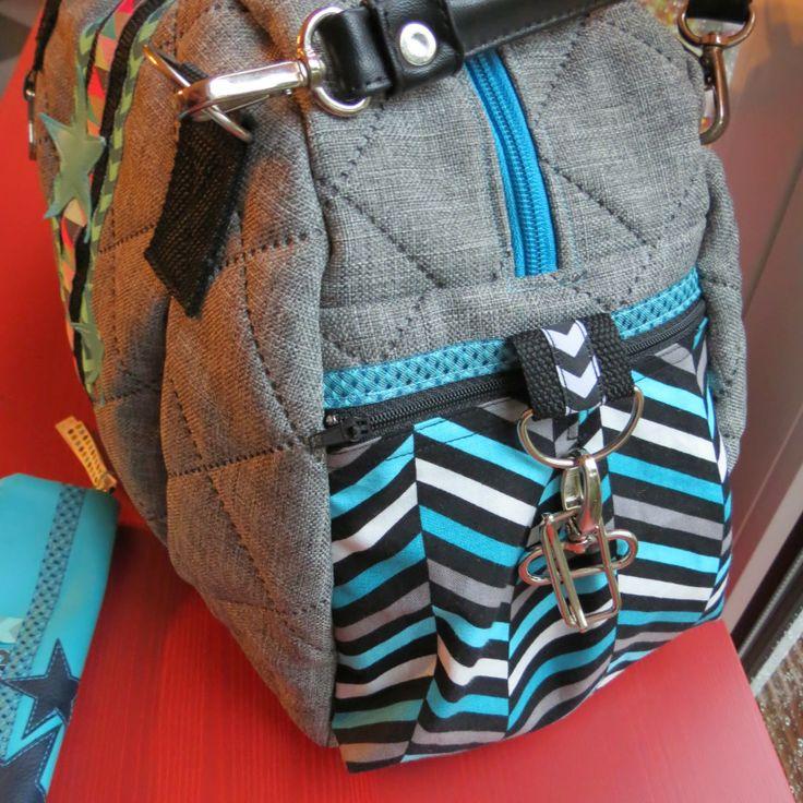 Madita-Handmade: Kugeltasche, pattern by farbenmix.de #taschenspieler2 #sewing #nähen #farbenmix
