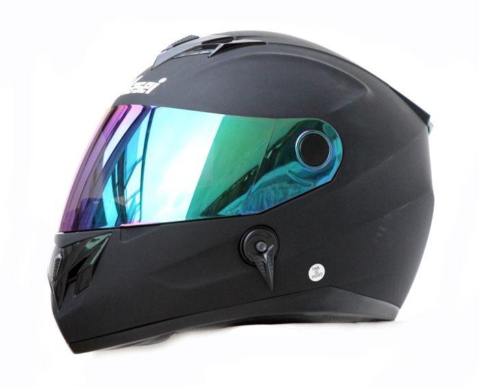 Masei 848 Matt Black Motorcycle DOT & ECE ARAI AGV SHOEI Helmet Free Shipping Worldwide FOR HARLEY DAVIDSON, KAWASAKI, YAMAHA, HONDA, SUZUKI BIKERS
