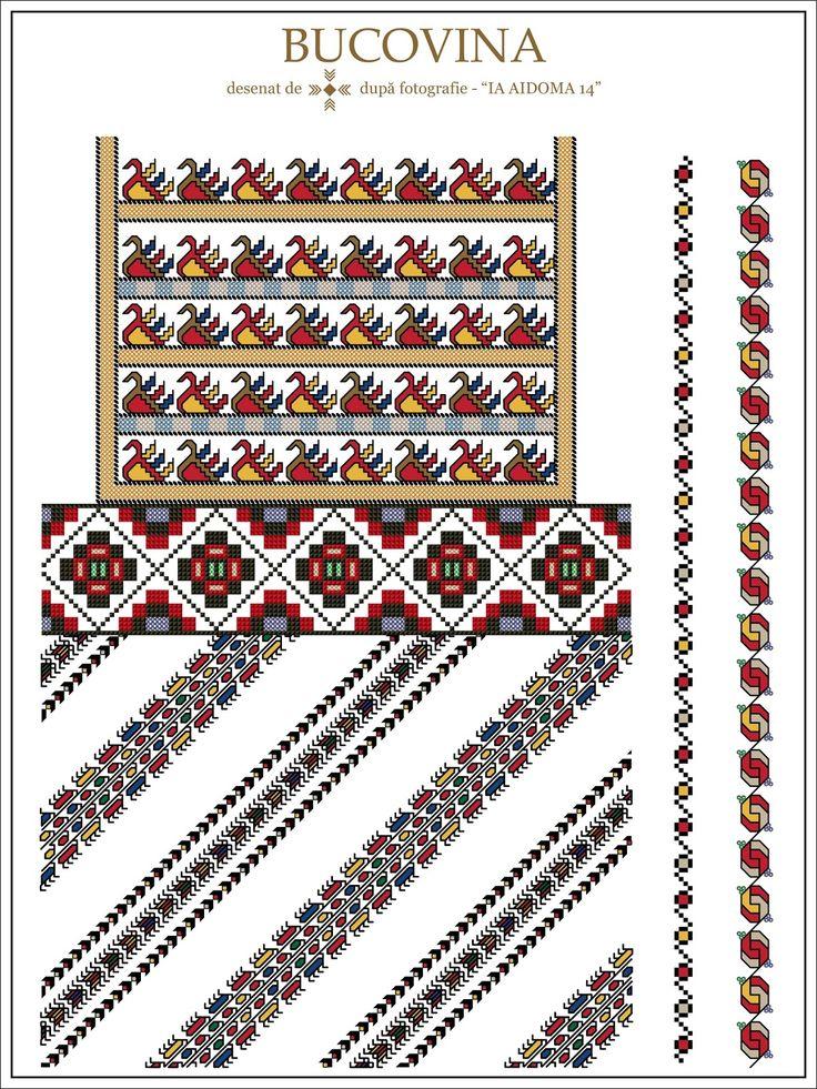 Semne Cusute: IA AIDOMA 14 = Bucovina, ROMANIA